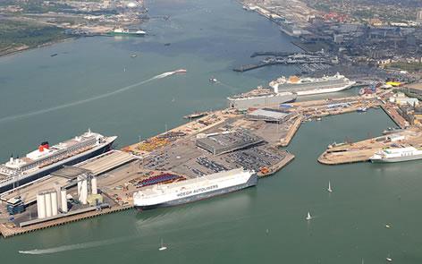 Southampton berth superyacht agency services uk - Southampton airport to southampton port ...